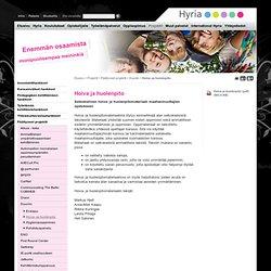 Hoiva -ja huolenpito - Hyria koulutus