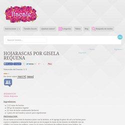 HOJARASCAS por Gisela Requena