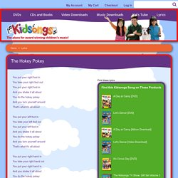 The Hokey Pokey Lyrics - Kid Song Lyrics - KidSongs.com - Kidsongs