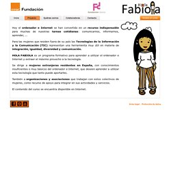 Hola Fabiola