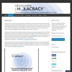 Découvrir l'Holacracy®