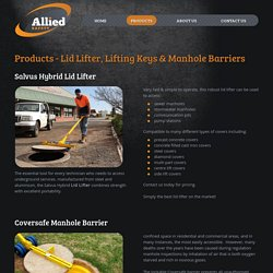 Man hole Barriers, Lid Lifter & Lifting Keys