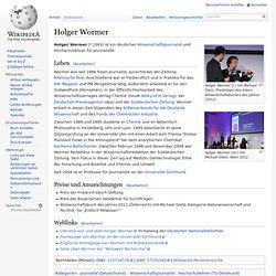 Holger Wormer