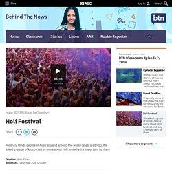 Holi Festival - Classroom - BTN
