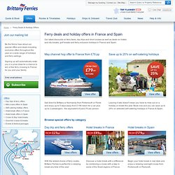Save 25% on 2013 holidays in France & Spain