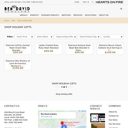 Buy Holiday Jewelry Gifts Ideas for Her Danville, VA