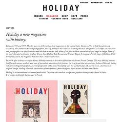 Holiday Magazine - Magazine