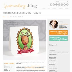 Holiday Card Series 2012 – Day 12 « kwernerdesign blog