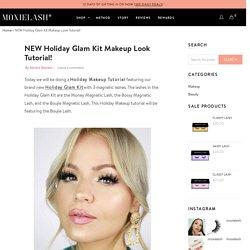 NEW Holiday Glam Kit Makeup Look Tutorial! – MoxieLash
