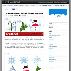 15+ Free Holiday & Winter Vectors: Winterize