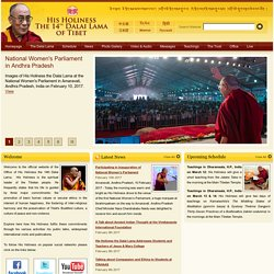 The Office of His Holiness The Dalai Lama
