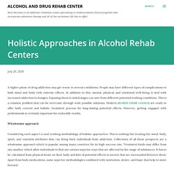 Holistic Approaches in Alcohol Rehab Centers
