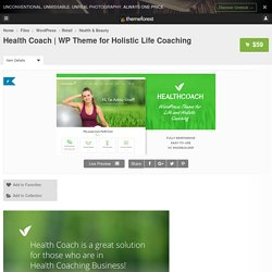WP Theme for Holistic Life Coaching - WordPress