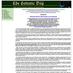 Holistic Dog - Flaxseed Oil
