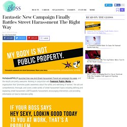 HollabackPhilly's Anti-Street Harassment Campaign Is Awesome
