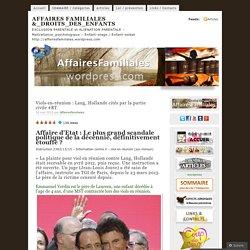 Viols-en-réunion : Lang, Hollande cités par la partie civile #RT