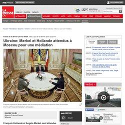 Ukraine: Merkel et Hollande attendus à Moscou pour une médiation