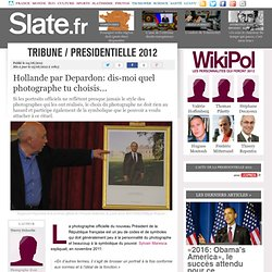 Hollande par Depardon: dis-moi quel photographe tu choisis...