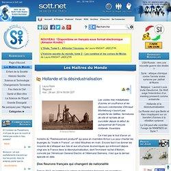 Hollande et la désindustrialisation