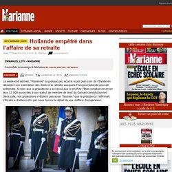 Hollande empêtré dans l'affaire de sa retraite