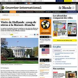 Visite de Hollande : coup de stress à la Maison-Blanche