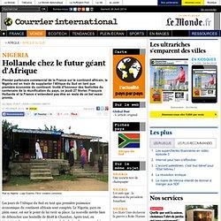 Hollande chez le futur géant d'Afrique
