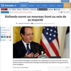 Hollande ouvre un nouveau front au sein de sa majorité