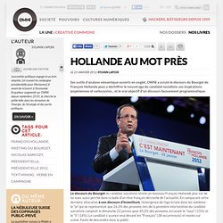 Hollande au mot près