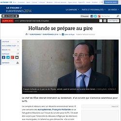 Hollande se prépare au pire