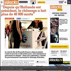 """""""Depuis qu'Hollande est président, le chômage a fait plus de 40 000 morts"""""""