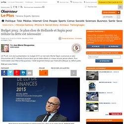 Budget 2015 : le plan choc de Hollande et Sapin pour réduire la dette est nécessaire