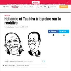 Hollande et Taubira à la peine sur la récidive