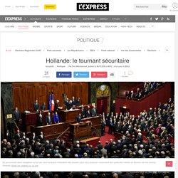 Hollande: le tournant sécuritaire