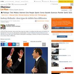 Sarkozy-Hollande : deux types de virilités bien différentes