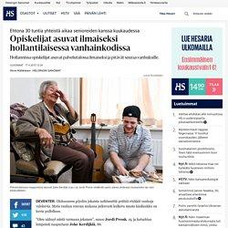 Opiskelijat asuvat ilmaiseksi hollantilaisessa vanhainkodissa - vanhustenhoito