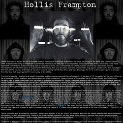 Hollis Frampton Biography