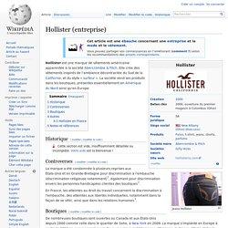 Hollister (entreprise)