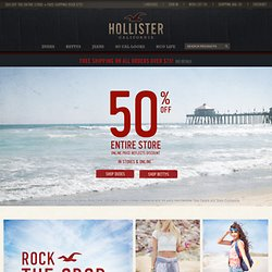Hollister Co. - Shop Official Site