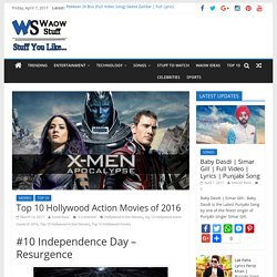 Top 10 Hollywood Action Movies of 2016 & Total Box Office Collection