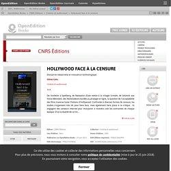 Hollywood face à la censure - CNRS Éditions