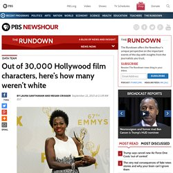 Out of 30,000 Hollywood film characters, here's how many weren't white