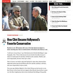 How Clint Became Hollywood's Favorite Conservative