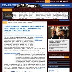 Hollywood Entertainment Breaking News - Nikki Finke on Deadline.com/hollywood