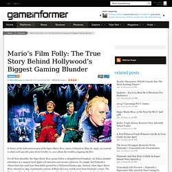 Mario's Film Folly: The True Story Behind Hollywood's Biggest Gaming Blunder - Features
