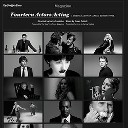 The Hollywood Issue - 14 Actors Acting - James Franco, Natalie Portman, Matt Damon and More - Video Feature