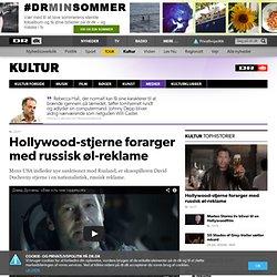 Hollywood-stjerne forarger med russisk øl-reklame
