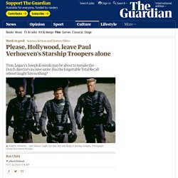 Please, Hollywood, leave Paul Verhoeven's Starship Troopers alone