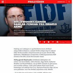Hollywoodstjärnor samlar pengar till Israels armé