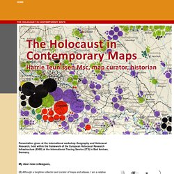 The Holocaust in Contemporary Maps