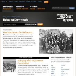 Holocaust Encyclopedia